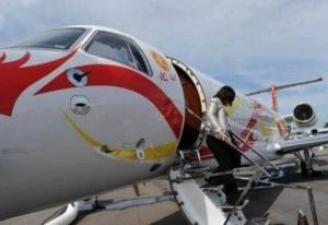 Ini Dia Pesawat Jet Pribadi Milik Jacky Chan