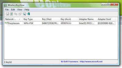 imagem wirelesskeyview Cara Membobol Dan Membuka Password Wifi / Hotspot